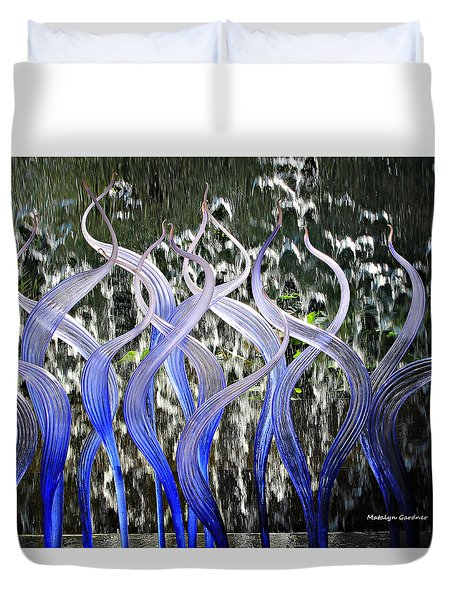 Dancing Chihuly  Duvet Cover