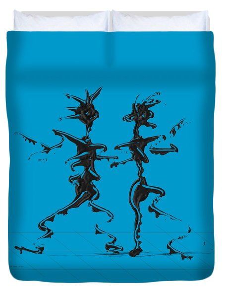 Dancing Couple 2 Duvet Cover
