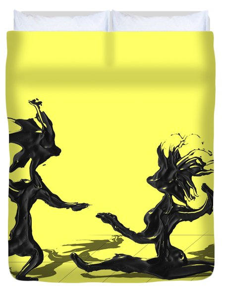 Dancing Couple 9 Duvet Cover