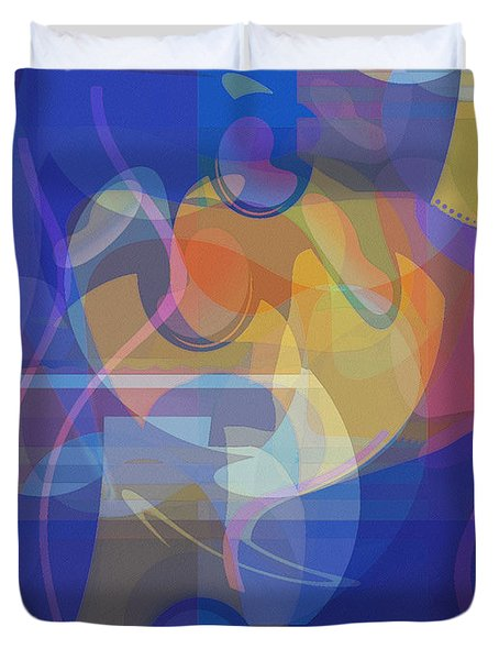 Dancing Days Duvet Cover