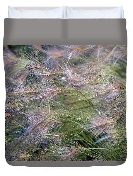 Dancing Foxtail Grass Duvet Cover