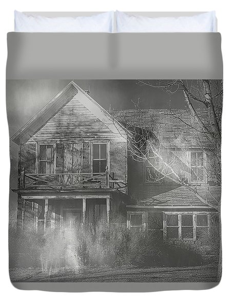 Dancing Ghosts Duvet Cover