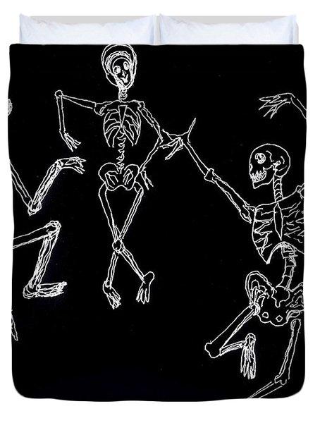 Dancing In The Dark Duvet Cover