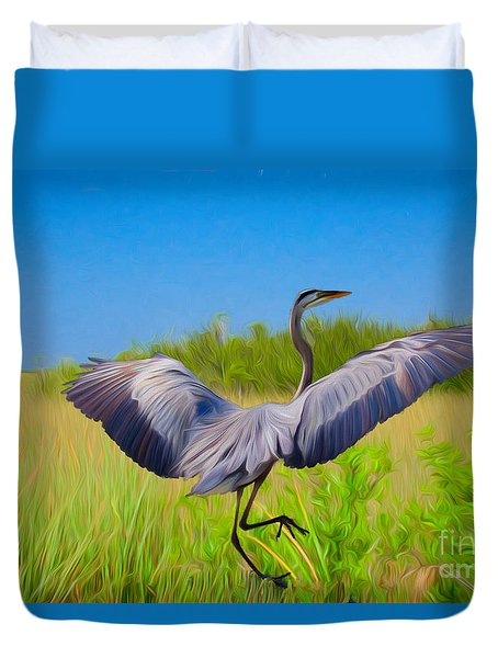 Dancing In The Glades Duvet Cover
