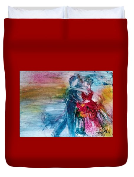 Dancing Into Eternity Duvet Cover