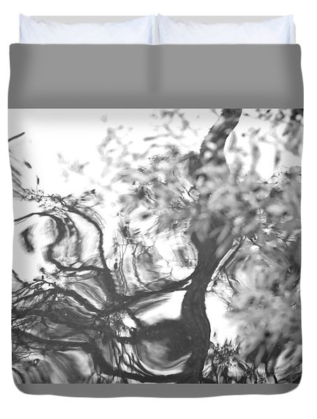 Dancing Leaves Duvet Cover