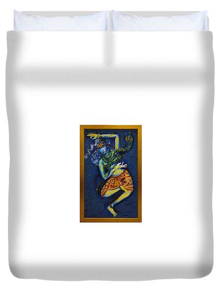 Dancing Shiva Duvet Cover