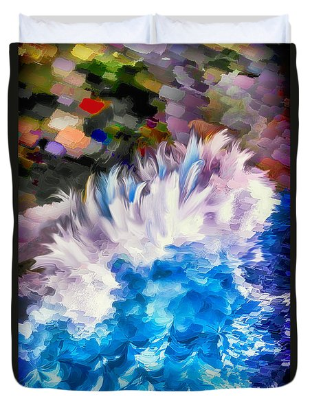 Dancing Swells Duvet Cover