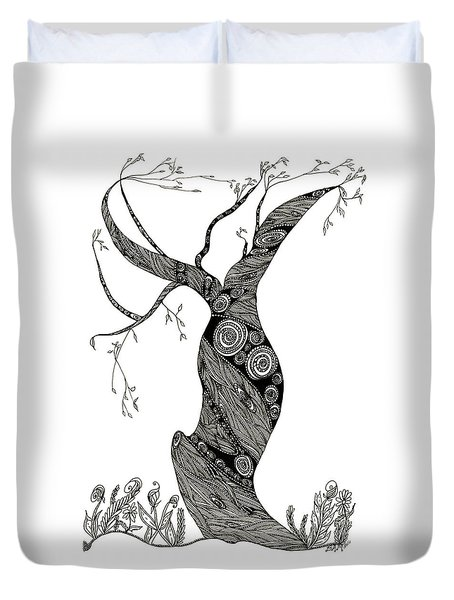 Dancing Tree Duvet Cover