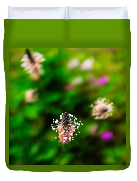 Dancing Wildflowers - Square Duvet Cover
