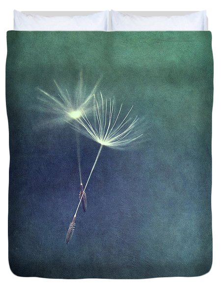 Dancing With The Wind Duvet Cover