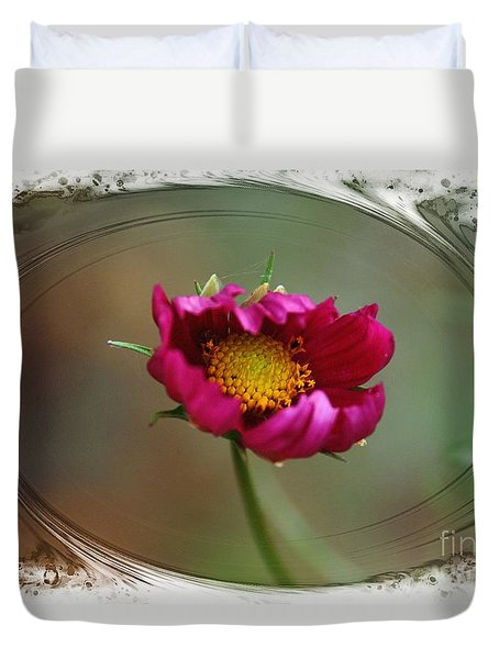 Dancing With Wind Duvet Cover by Yumi Johnson