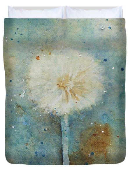 Dandelion Clock 2 Duvet Cover