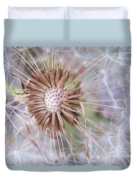 Dandelion Delicacy Duvet Cover