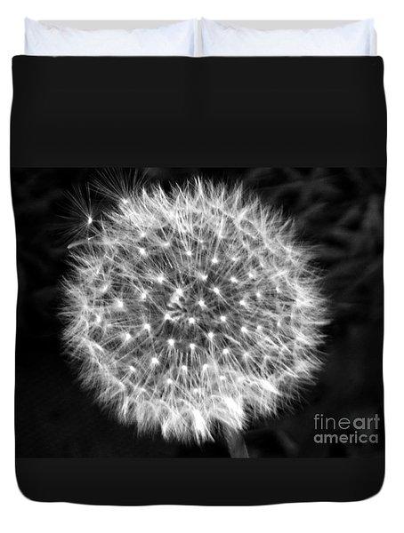 Dandelion Fuzz Duvet Cover