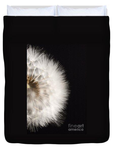 Dandelion In Macro 4 Duvet Cover