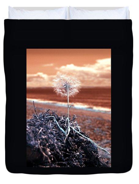 Dandelion Moments Duvet Cover
