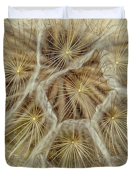 Dandelion Particles Duvet Cover