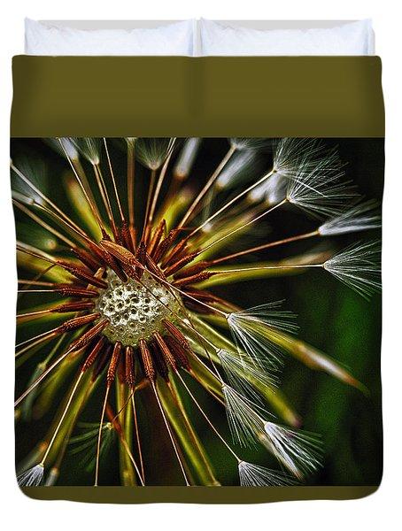 Dandelion Puff Duvet Cover