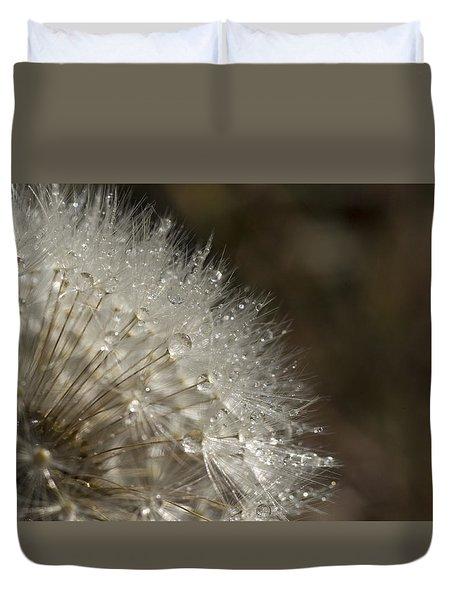 Dandelion Rain Duvet Cover