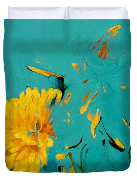 Dandelion Summer Duvet Cover