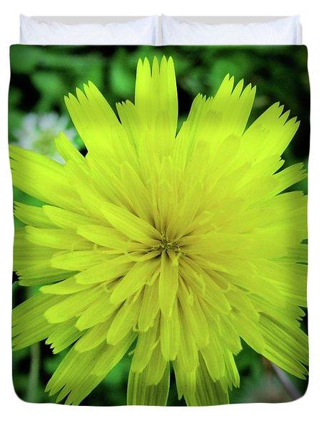 Dandelion Symmetry Duvet Cover
