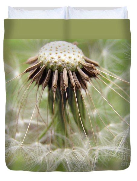 Dandelion Wish 8 Duvet Cover