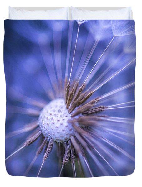 Dandelion Wish Duvet Cover
