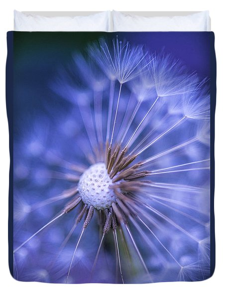 Dandelion Wish Duvet Cover