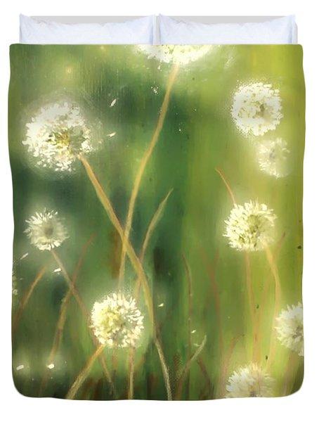 Dandelions Duvet Cover