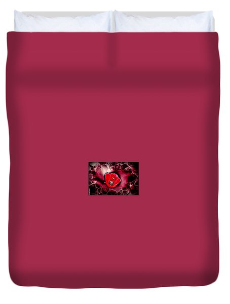 Dangerous Passion Duvet Cover