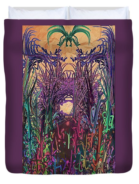 Dangerous Path Duvet Cover