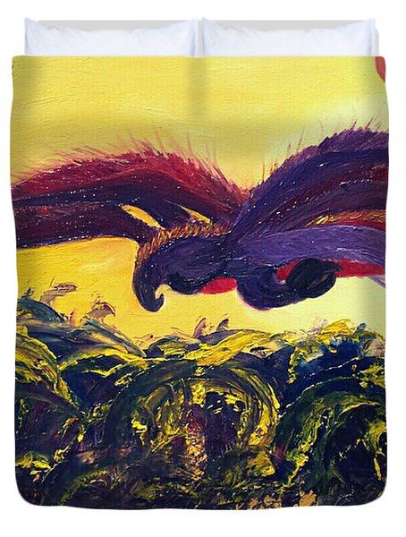 Dangerous Waters Duvet Cover