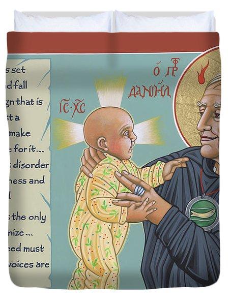 Holy Prophet Daniel Berrigan 291  Duvet Cover