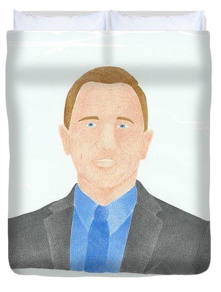 Daniel Craig Duvet Cover