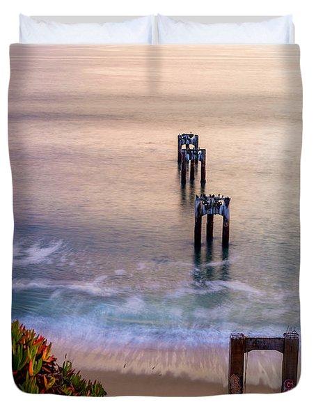 Danvenport Pier Duvet Cover