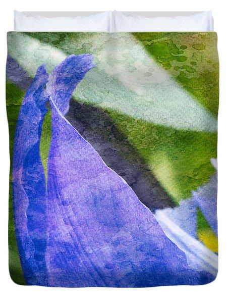 Dappled Petals Duvet Cover