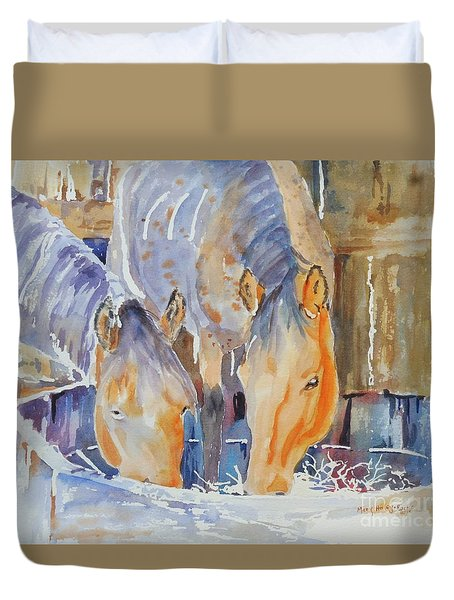 Dappled Sunlight Duvet Cover by Mary Haley-Rocks