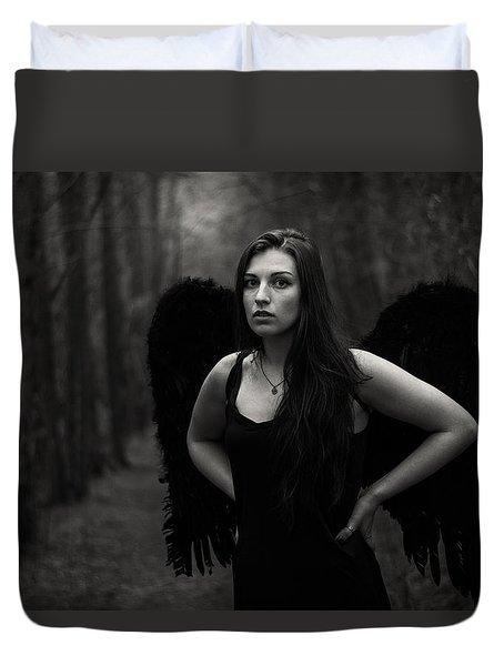 Dark Angel Duvet Cover by Brian Hughes