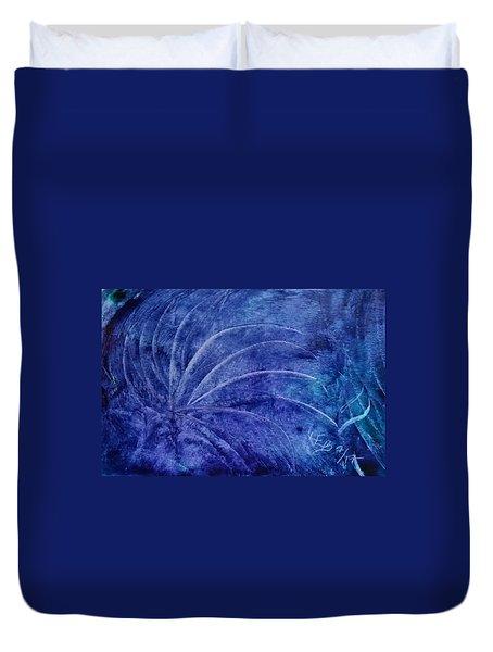 Dark Blue Abstract Duvet Cover