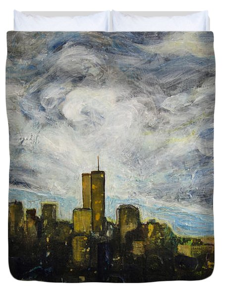 Dark Clouds Approaching 2 Duvet Cover