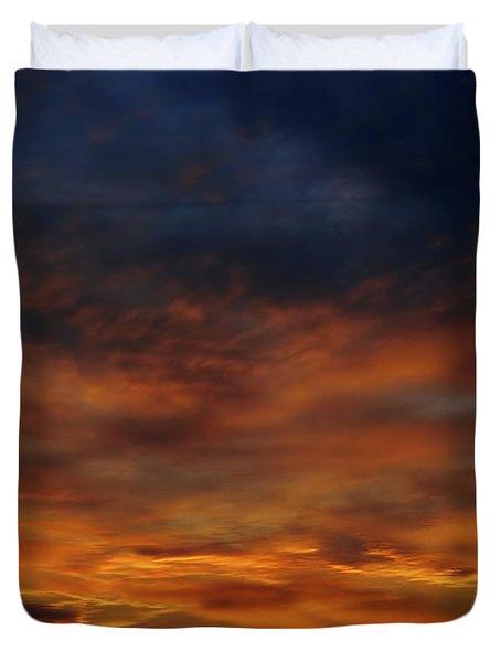 Dark Clouds Duvet Cover by Michal Boubin