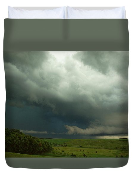 Dark Countryside Duvet Cover