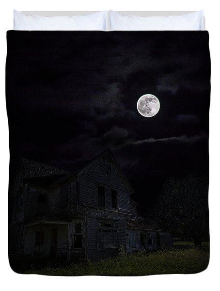Dark Embrace Duvet Cover