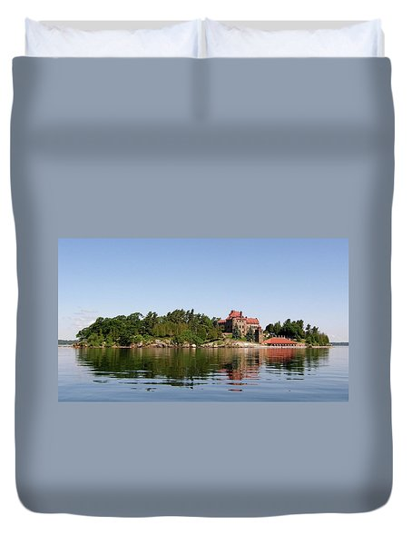Dark Island Duvet Cover