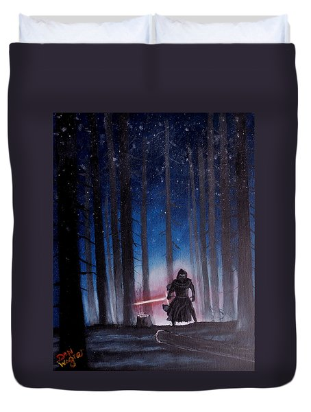 Dark Jedi Duvet Cover by Dan Wagner