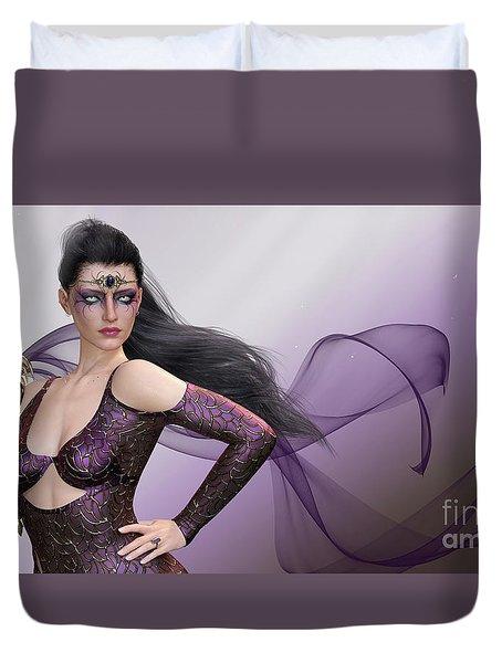 Dark Lady Duvet Cover