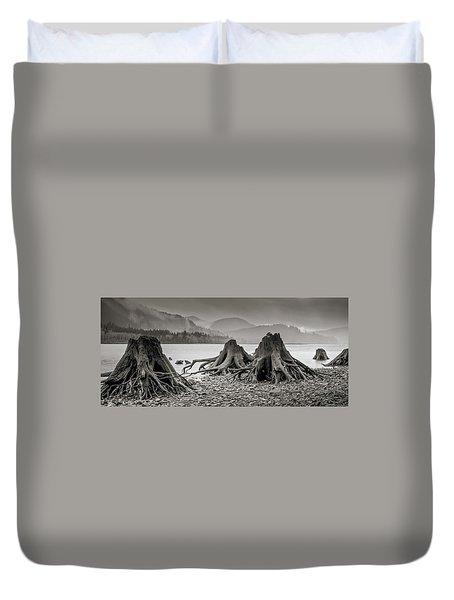 Dark Lake Duvet Cover