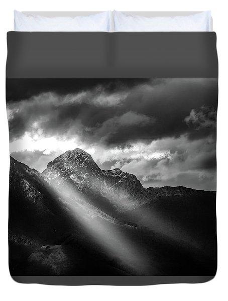Dark Light Duvet Cover