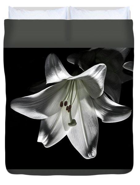 Dark Lilly Duvet Cover